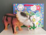 Dinosaur Triceratops Happy Birthday Gift, Card & Bag