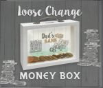 Dad's Bank - Loose Change Money Box