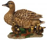 Duck Family Chicks - Lifelike Garden Ornament - Indoor or Outdoor - Real Life