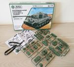 Panzerkamp Fwagen VI Ausf. E Tiger 1 Tank Model Kit Scale 1:72 Build & Play