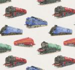 Steam Train Wrapping Paper 2 Sheets & Tags - Arty Penguin