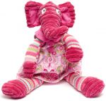 Elephant Soft Toy - Pink Ellie Elephant
