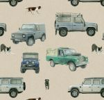 4x4 Defender Land Rover Wrapping Paper Sheets & Tags - Arty Penguin