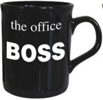 Boss - The Office Mug - Black