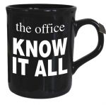 Know It All - The Office Mug - Black