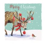 Christmas Card - Reindeer - The Wildlife Ling Design