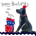 Christmas Card - From The Dog - Little Sparkles - Alex Clark