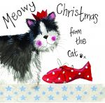 Christmas Card - From The Cat - Little Sparkles - Alex Clark