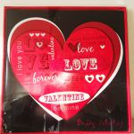 Deluxe Valentines Day Card - Be My Valentine - Hugs & Kisses