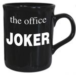 Joker - The Office Mug - Black