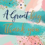 Thank You Card - Modern - The Curious Inksmith