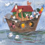 Greetings Card - Noah's Ark - Alex Clark