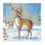Christmas Card - Winter Stag Ling Design