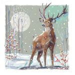 Christmas Card - Monarch of The Glen Stag Ling Design