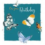 Birthday Card - Butterflies - The Wildlife Ling Design