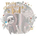 Christmas Card - Dad - Sloth - Talking Pictures