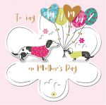 Mother's Day Card - Mummy - Dachshund Dog - 3D Talking Pictures