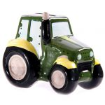 Tractor Farm Ceramic Money Box
