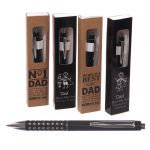 Dad Gift My Hero Boxed Pens - 4 designs