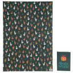 Alpaca Gift Wrapping Paper Sheet & Tag