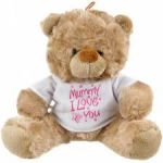 Bear Soft Toy - Mummy I Love You - Mothers Day