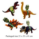 Dinosaur Prehistoric Jurassic Beasts with Sound - 4 designs