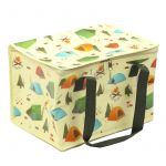 Camping Picnic Large Cool Bag Lunch Box - Tent