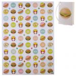 Burger Fast Food Design Gift Wrapping Paper Sheet & Tag