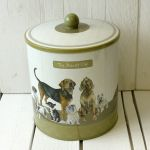 Scruffy Mutts Biscuit Club Dog Retro Style Biscuit Tin - The Little Dog