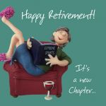 Retirement Card - Female - New Chapter Funny One Lump Or Two