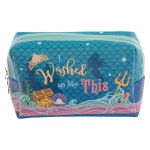 Mermaid Design Enchanted Seas Makeup Wash Bag