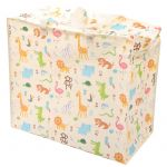 Zoo Animals Extra Large Laundry Storage Bag Kids Toys