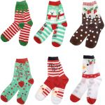 Christmas Novelty Socks Ladies - 6 Designs