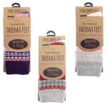 Therma Feet Thermal Ladies Socks - 3 Colours