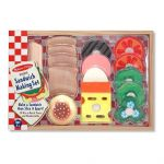 Melissa & Doug Sandwich Making 16 Piece Pretend Play Set