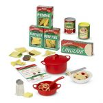 Melissa & Doug Prepare & Serve Pasta 50 Piece Pretend Play Set
