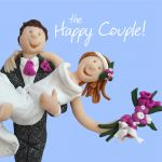 Wedding Day Card - Happy Couple - Funny One Lump Or Two