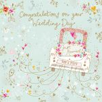Wedding Day Card - Just Married - Chantilly Ling Design