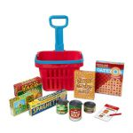 Melissa & Doug Fill & Roll Shopping Basket Play Set