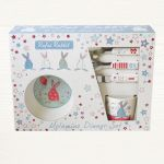 Rufus Rabbit - Melamine Dinner Gift Set - Boy