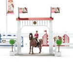 Big Horse Show Equestrian with Accessories Horses Jumps - Schleich - 42338
