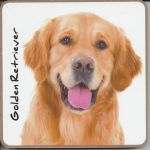 Golden Retriever Dog Coaster - Dog Lovers