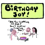 Birthday Card - Birthday Joy - Adult Rude Funny - Something David