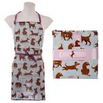 Catch Patch Dog Novelty Apron - Poly Cotton