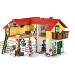 Large Farm House with Figures, Animals & Accessories - Schleich - 42407