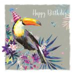 Birthday Card - Toucan - The Wildlife Ling Design