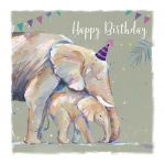 Birthday Card - Elephant - The Wildlife Ling Design