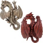 Winged Dragon - Ornament Wall Hanging - Indoor or Outdoor - 2 Colours