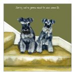 Greetings Card - Miniature Schnauzer - ID - The Little Dog
