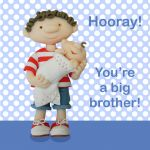 Greetings Card - You're a Big Brother - Boy - Ferdie & Friends
